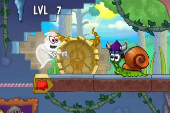 snail bob 7 2 player games