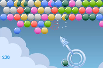 Play Cloudy Bubbles online for Free