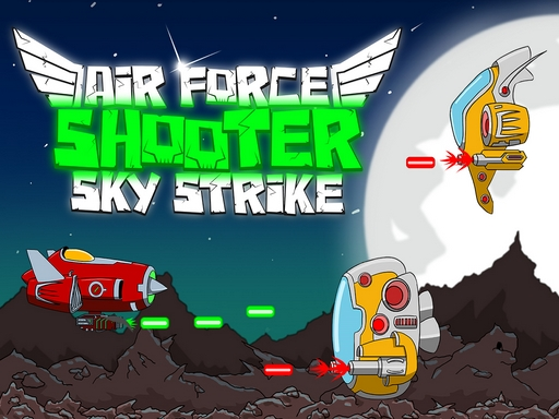 Air Force Shooter Air Strike
